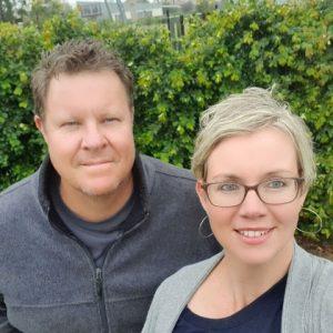 Craig and Michaela Stevens
